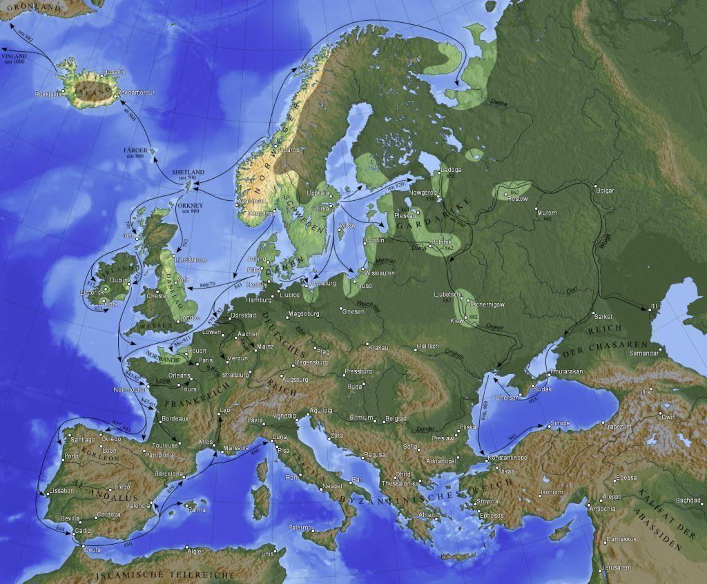 Jak Wikingowie Zbudowali Sredniowieczna Rus Portal Historyczny