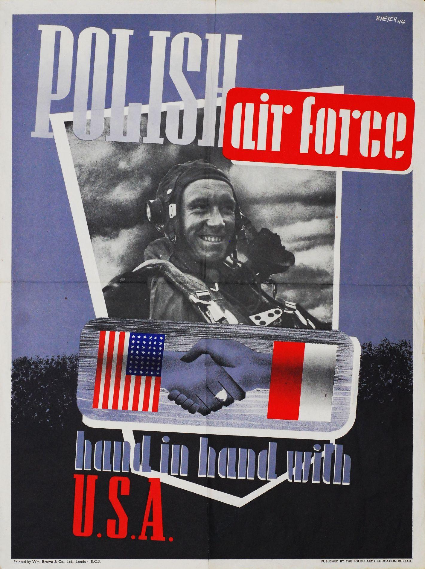 Polska Ukrzyżowana Czyli Polsko Amerykańskie Plakaty