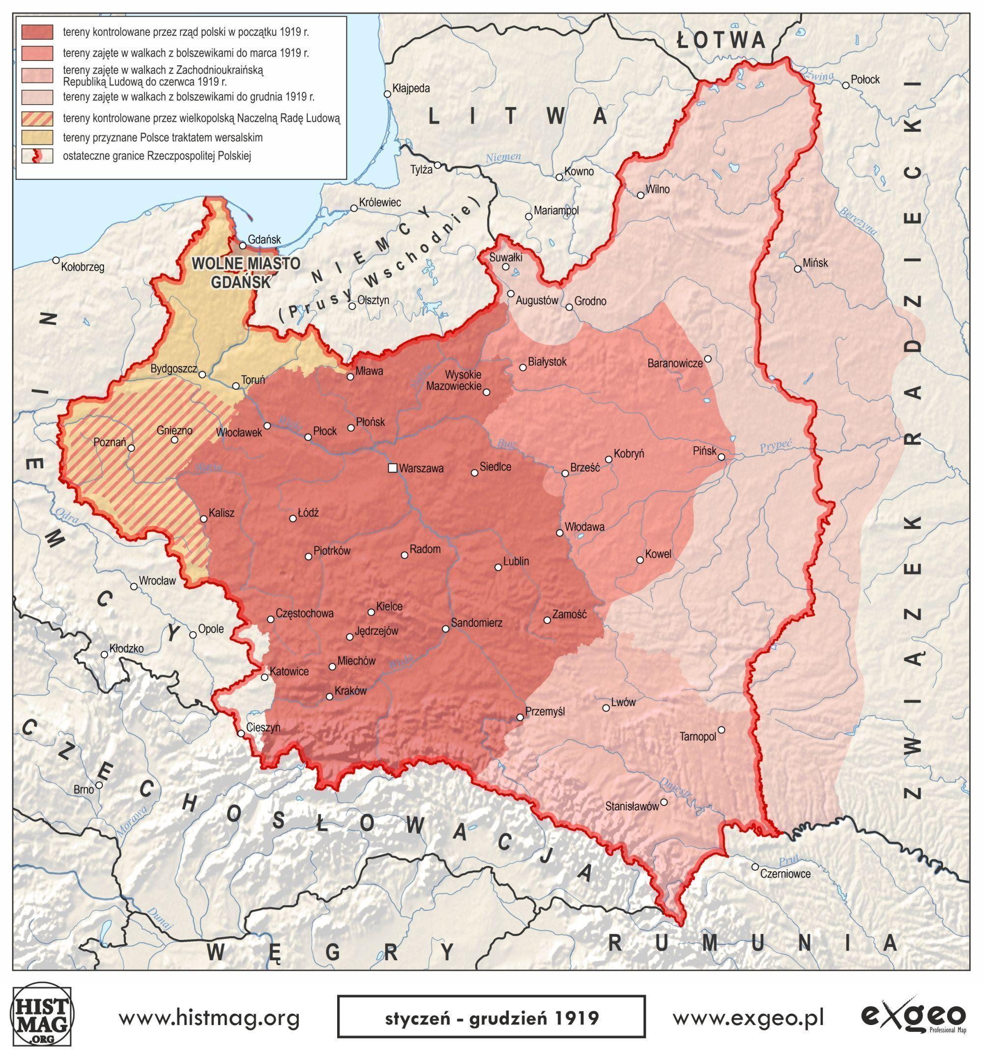 Odzyskanie Niepodleglosci Przez Polske Mapy Portal Historyczny