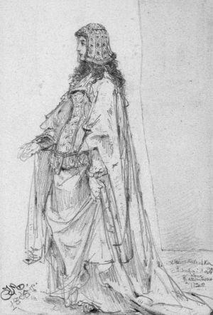 Królowa Adelajda żona Kazimierza Wielkiego