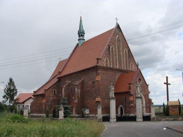 Żarnowiec kościół