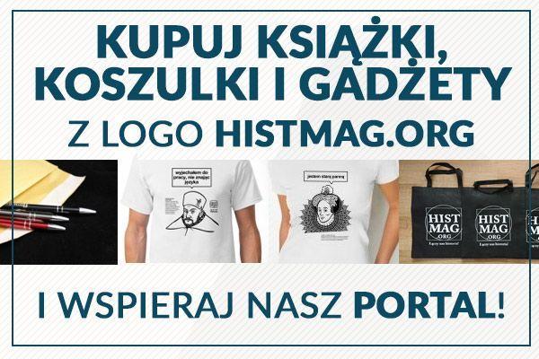 koszulki historyczne, książki, gadżety Histmag.org