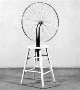 """""""Koło rowerowe"""" Duchamp"""