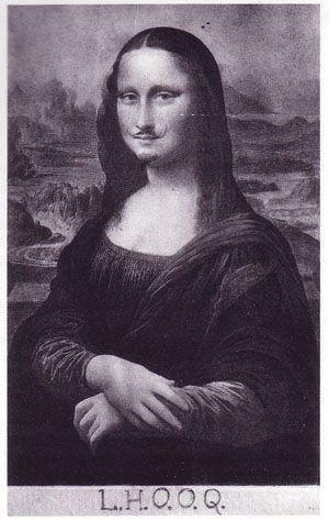 """""""Mona Lisa LHOOQ"""" Duchamp"""