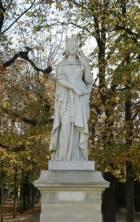 Pomnik Baltyldy w Parku Luksemburskim (Paryż