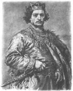Bolesław Śmiały - obraz z cyklu Poczet królów i książąt polskich Jana Matejki