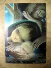 świąteczna kartka z Francji