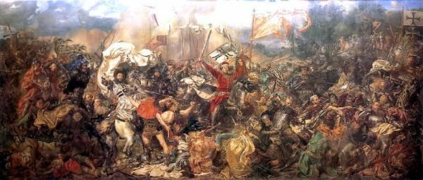 Kopia obrazu Bitwa pod Grunwaldem