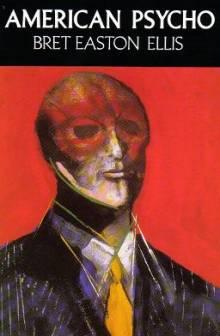 Okładka pierwszego brytyjskiego wydania American Psycho w twardej oprawie