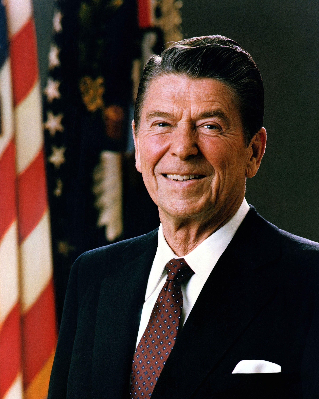 Ronald Reagan (1911-2004) (fot. domena publiczna) ... - oficjalny