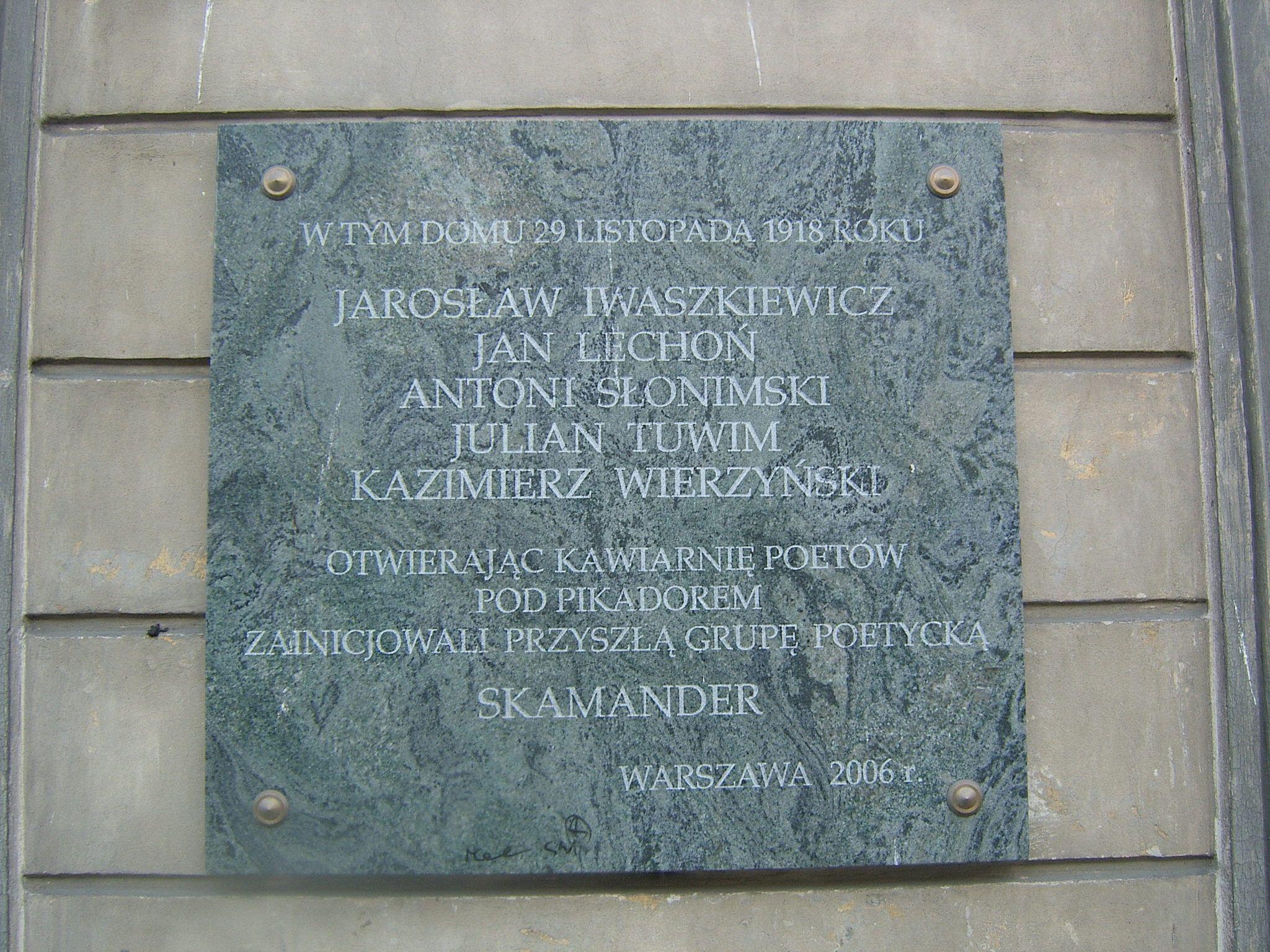 Kawiarnia Pod Picadorem Legenda Poetyckiej Warszawy