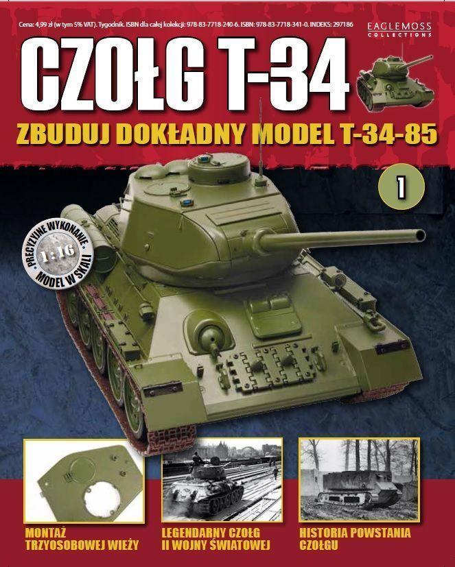 Czołg T-34 - tygodnik - prenumerata kwartalna już od 29,99 zł