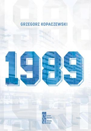 1989 okładka książki Grzegorz Kopaczewski