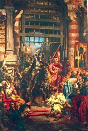 Wjazd Chrobrego do Kijowa w 1018 r., domena publiczna