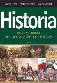 """""""Historia. Repetytorium dla licealistów i studentów"""" - okładka"""