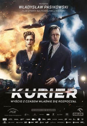 """""""Kurier"""" – reż. Władysław Pasikowski – recenzja i ocena filmu - plakat"""