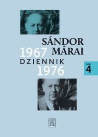 """Sándor Márai - """"Dziennik 1967-1976"""" - okładka"""