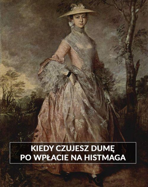 Thomas Gainsborough Mery hrabianka Howe obraz mem zbiórka Histmag.org