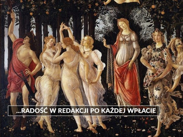Sandro Botticelli Wiosna obraz mem zbiórka Histmag.org