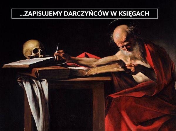 Caravaggio Święty Hieronim obraz mem zbiórka Histmag.org