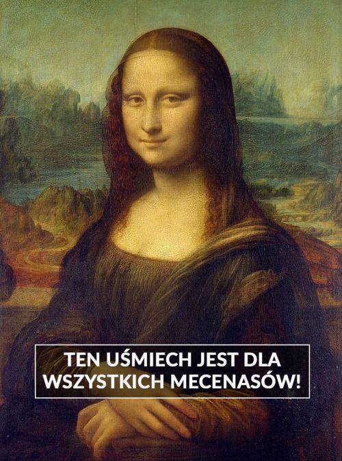 Leonardo da Vinci Mona Lisa obraz mem zbiórka Histmag.org