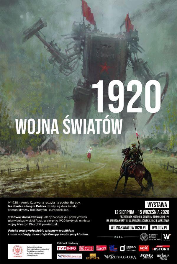 IPN wystawa Wojna Światów 1920 plakat