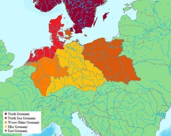 mapa mapy germanie odkrycia Polska