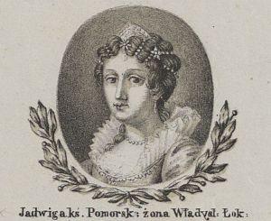 Królowa Jadwiga, żona Władysława Łokietka