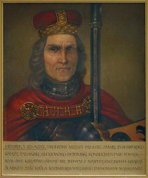 Jadwiga żagańska, ostatnia żona Kazimierza Wielkiego Henryk V Żelazny