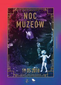 noc muzeów 2018 warszawa plakat